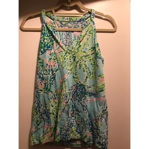Lilly Pulitzer Cotton Tank